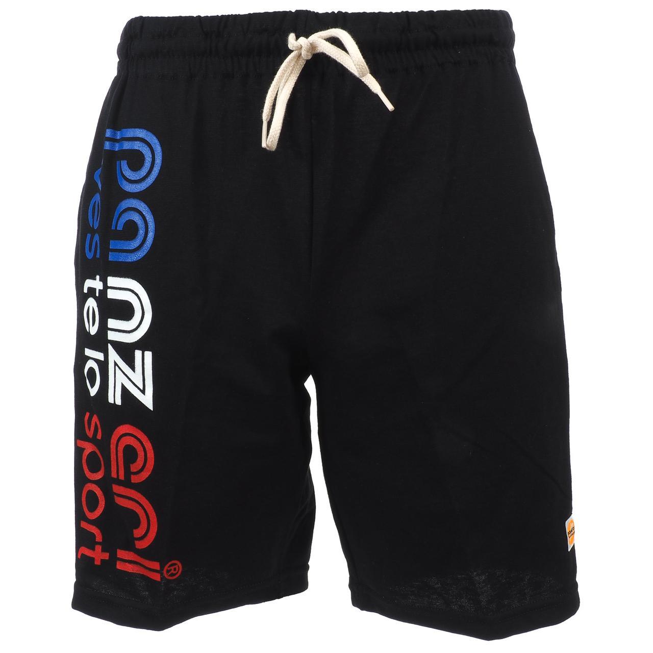 Shorts-Multi-Panzeri-Park-B-Nr-B-B-R-Bermuda-Black-22071-New