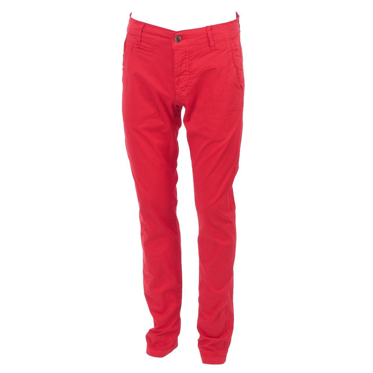 Hose-Biaggio-Tarel-Rot-Hose-Chino-Rot-22256-Neu