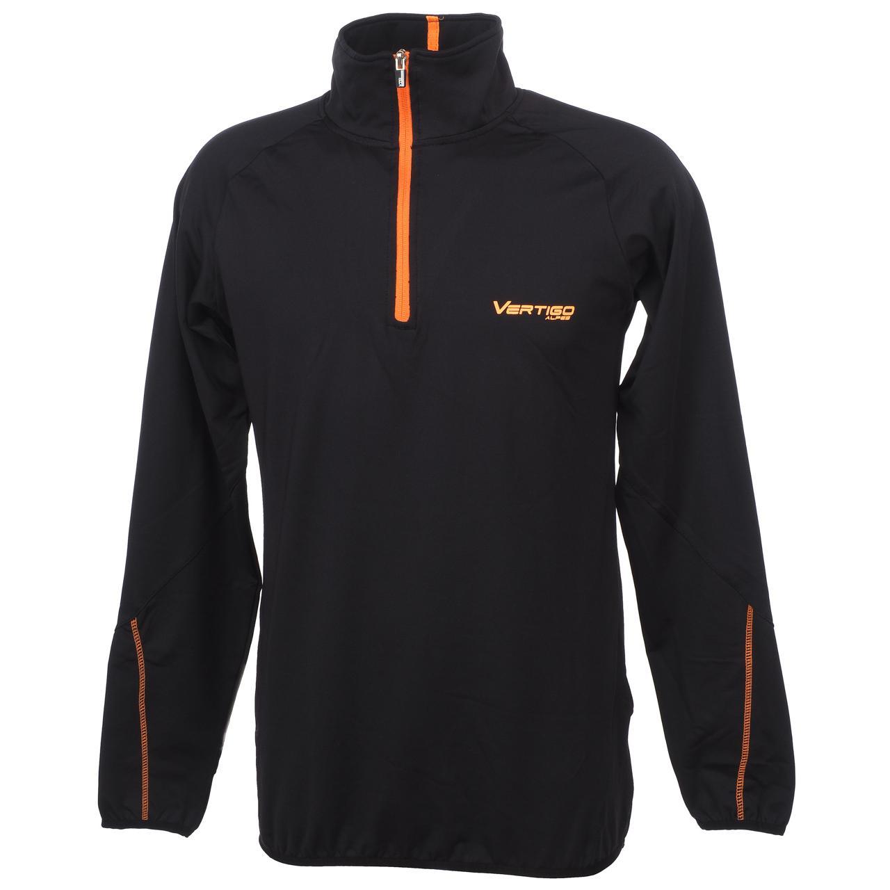 Under-Clothing-Thermal-Hot-Alpes-Vertigo-Manu-Blk-1-2z-ML-Tee-Poly-Black-251