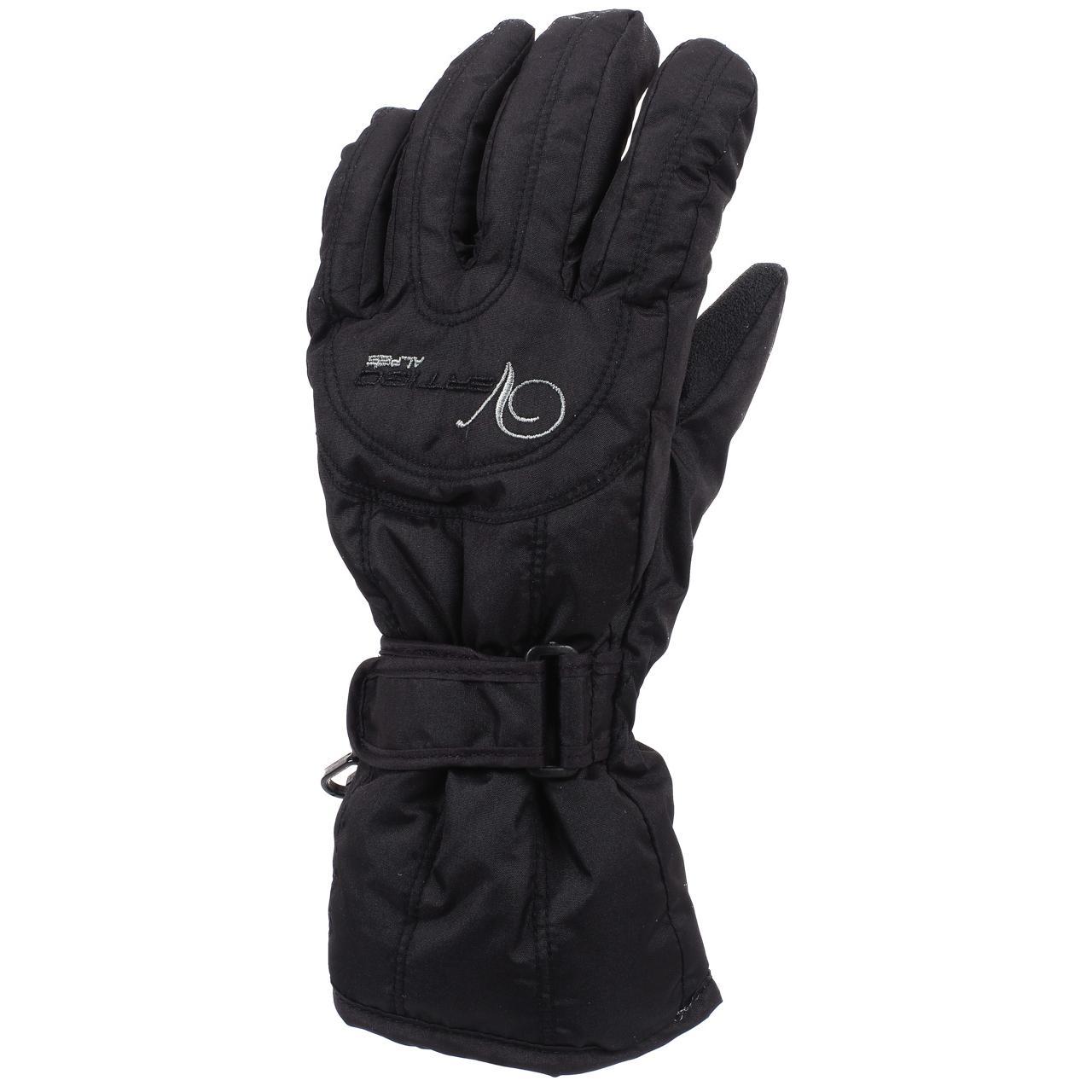 Ski-Gloves-Alpes-Vertigo-Annick-Black-Gloves-Ski-L-Black-25427-New