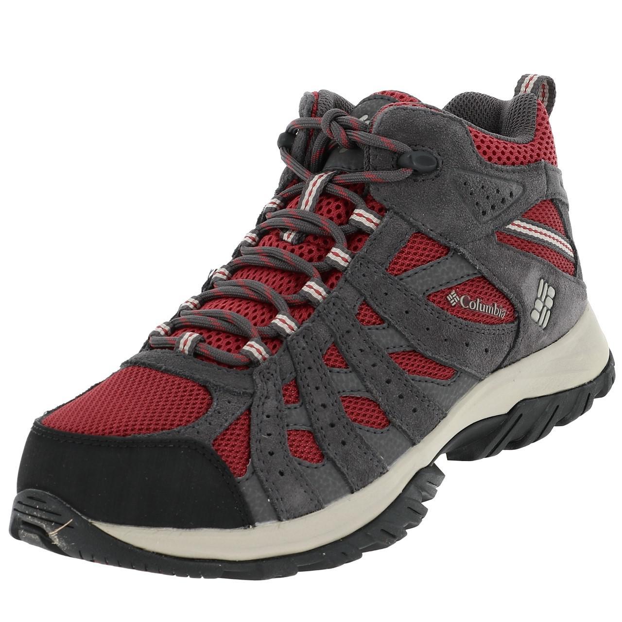 Schuhe Tritt- Wanderungen Columbia Canyon Point Marsala Rot Rot 26223 - Neu