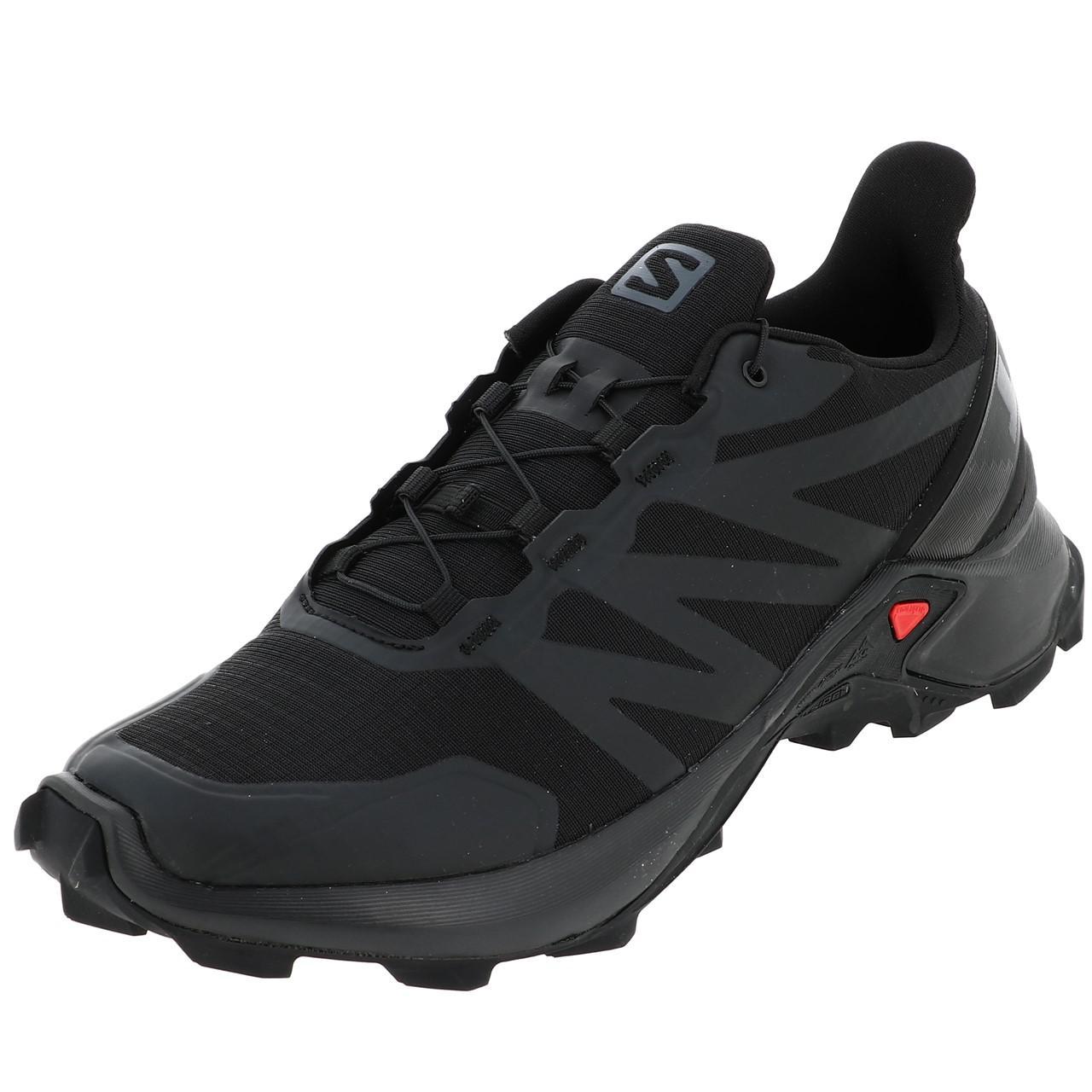 Chaussures Running Trail Femme Salomon Supercross cerise run l
