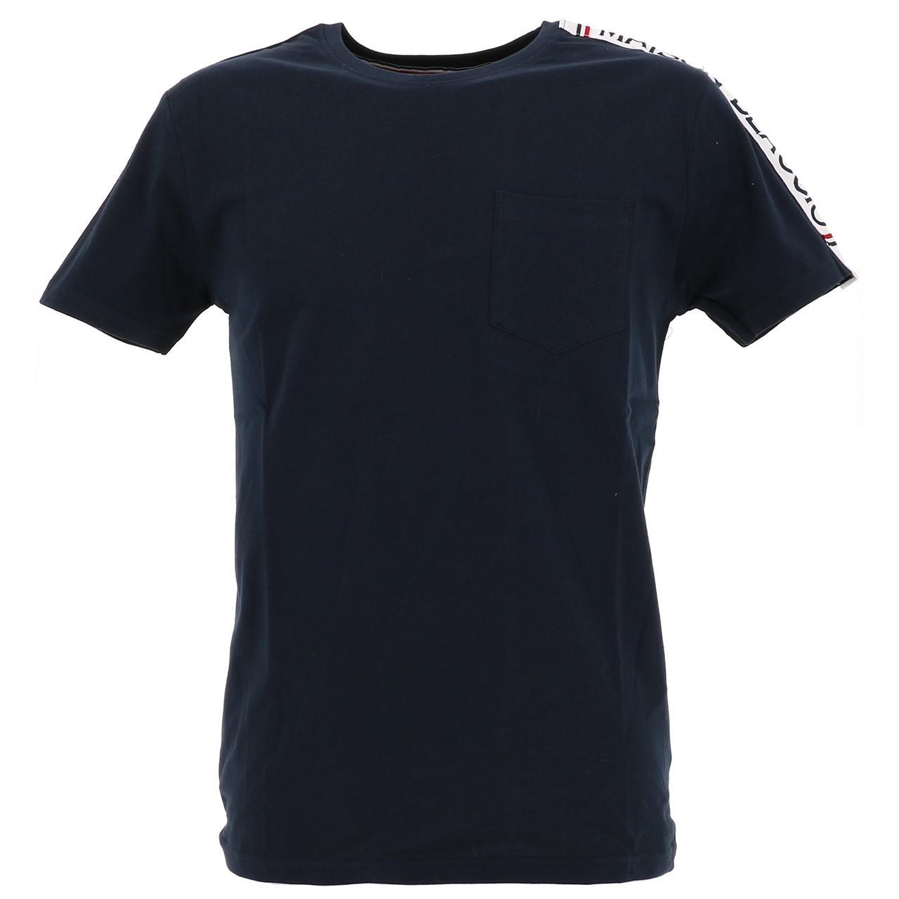Short-Sleeve-T-Shirt-La-Maison-Blaggio-Metili-Navy-Mc-Tee-Blue-27343-New