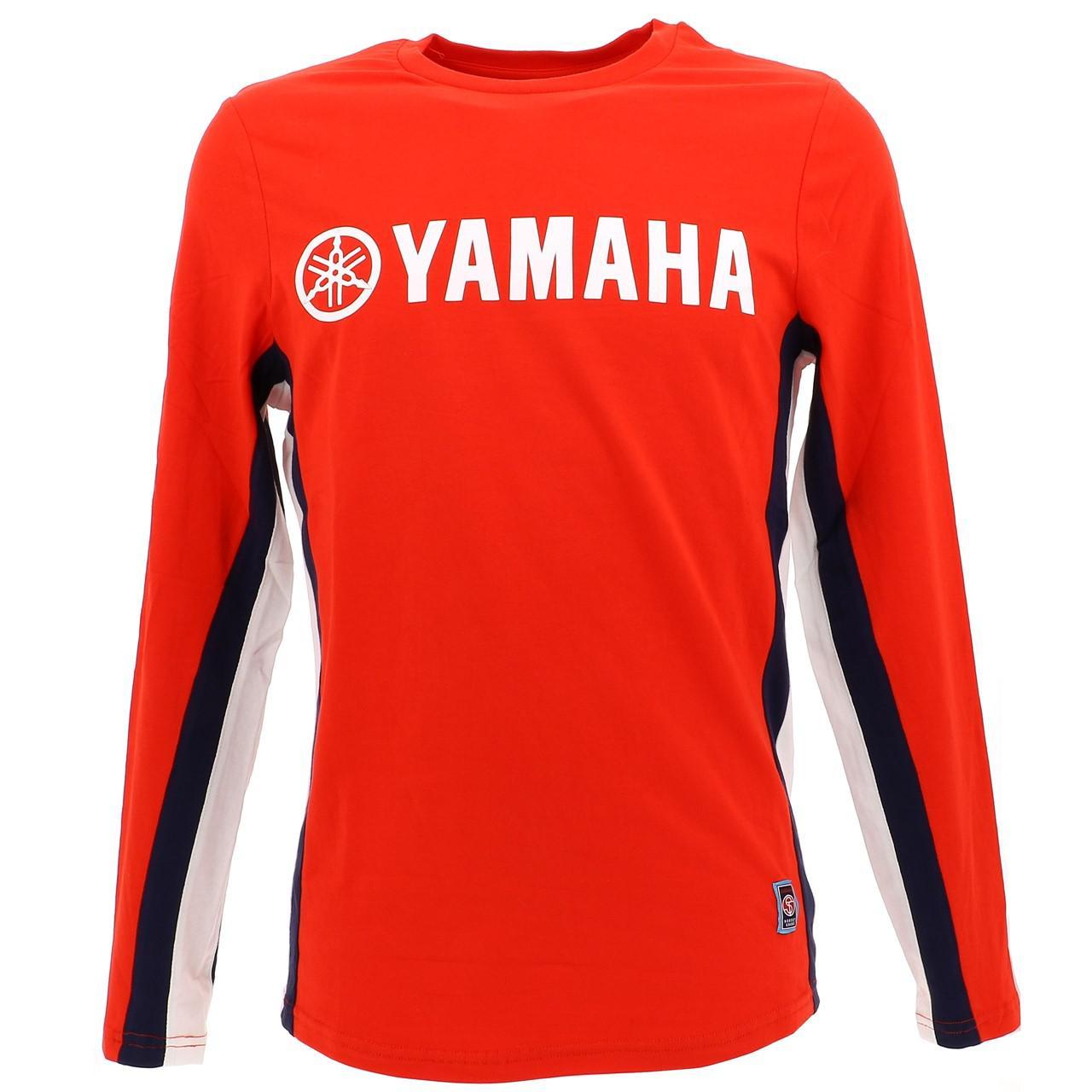 T-Shirt-Yamaha-Yam-C-Red-ML-Tee-Red-28650-New
