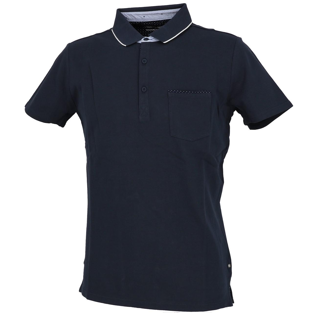 Short-Sleeve-Polo-Teddy-smith-Liam-Navy-Mc-Polo-Blue-29879-New thumbnail 1