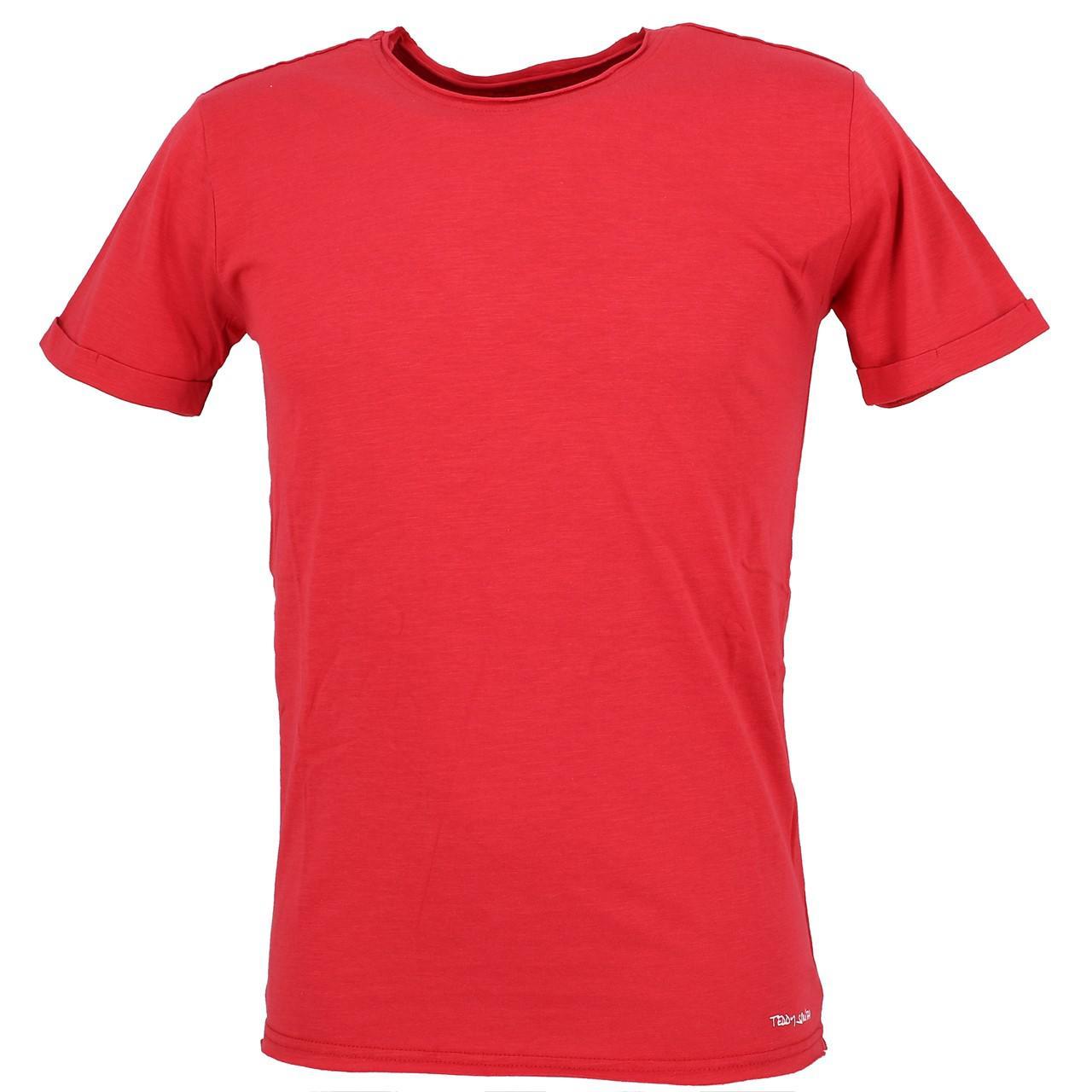 Short-Teddy-smith-Turos-Red-Mc-Tee-Red-30023-New