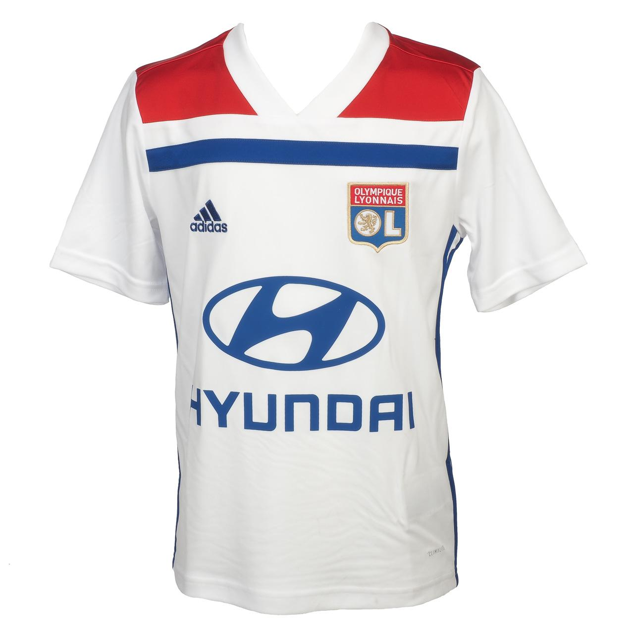 Maillot de football Adidas Lyon maillot jr 2018 19 Blanc 35975 --Neuf