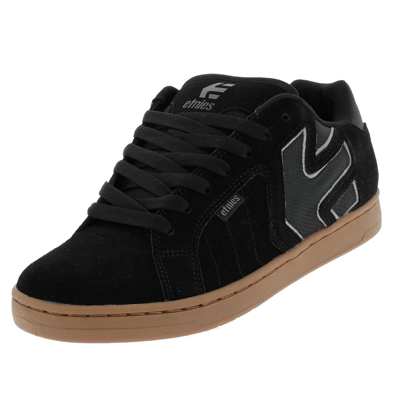 Shoes-Skateboard-Etnies-Fader-Black-Grey-Gum-Black-39127-New