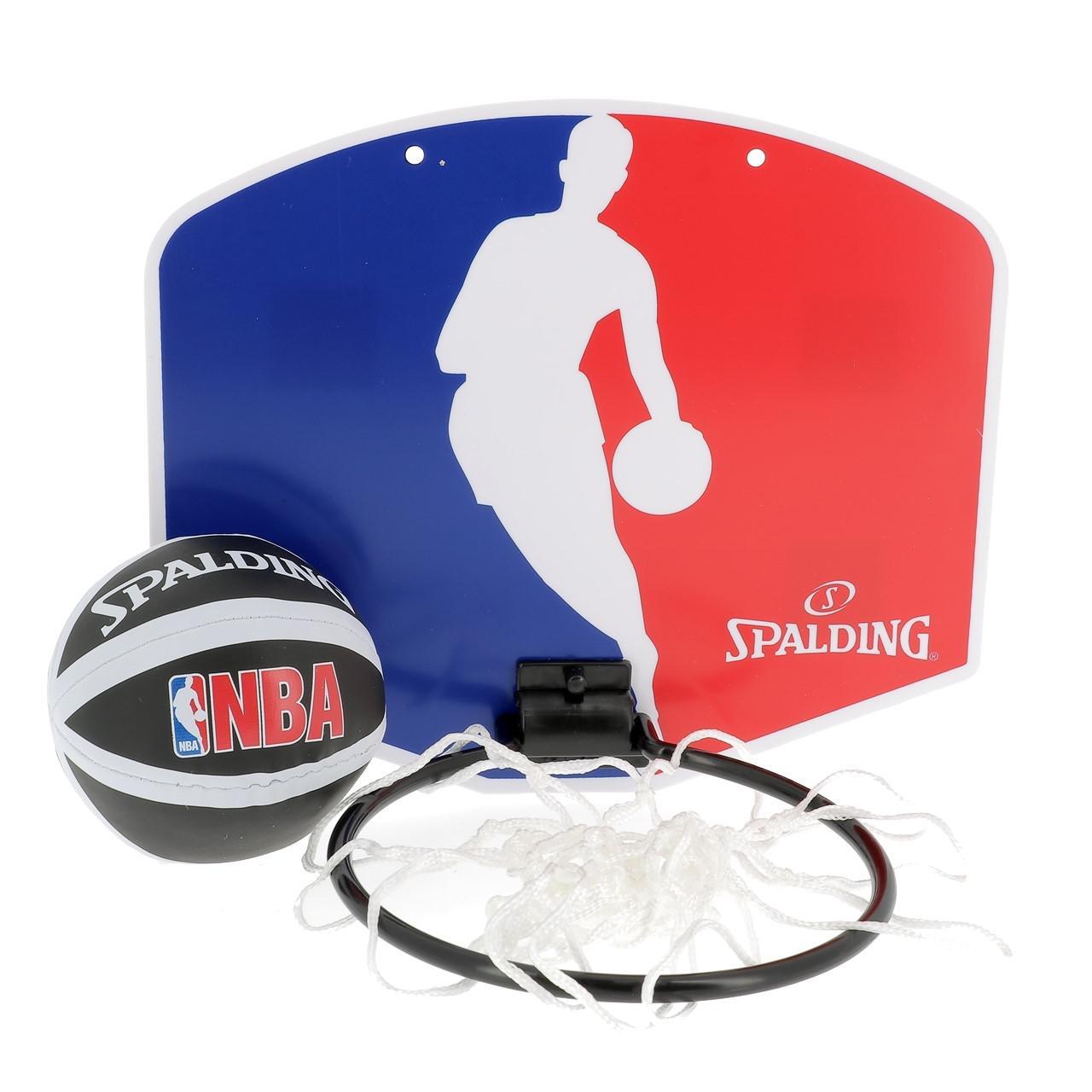 Panel-of-Basketball-Spalding-NBA-Micropanier-Blue-40158-New