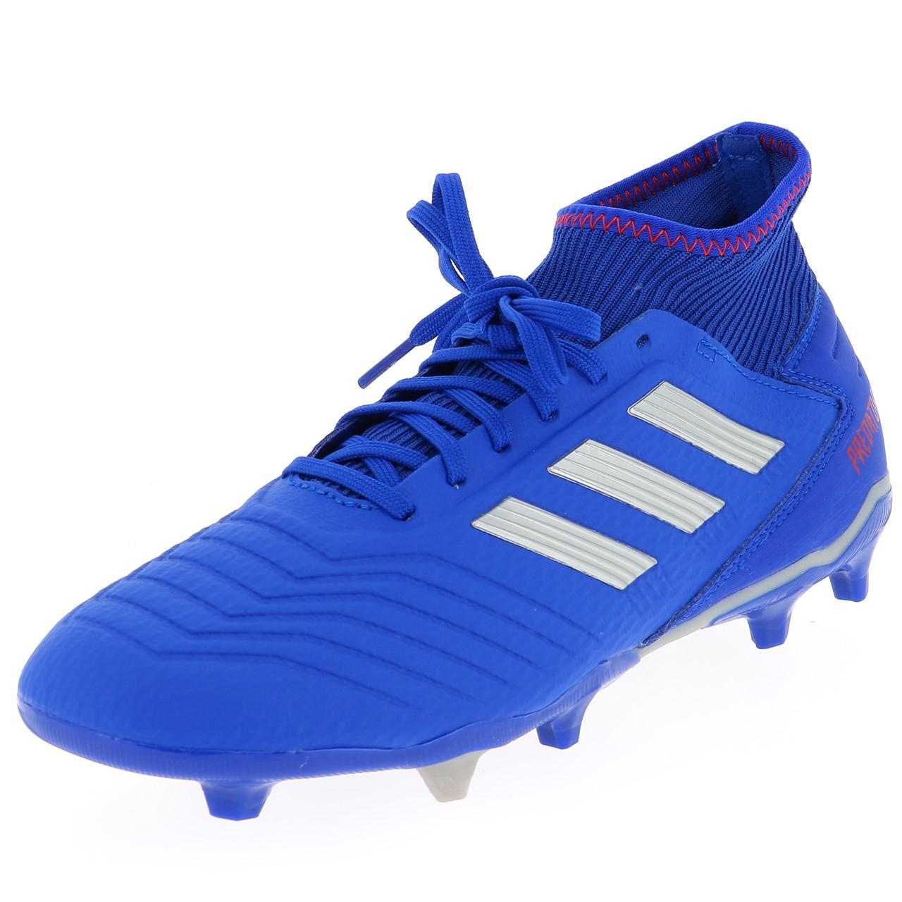 Détails sur Chaussures football lamelles Adidas Predator 19.3 bleu h fg Bleu 41797 Neuf