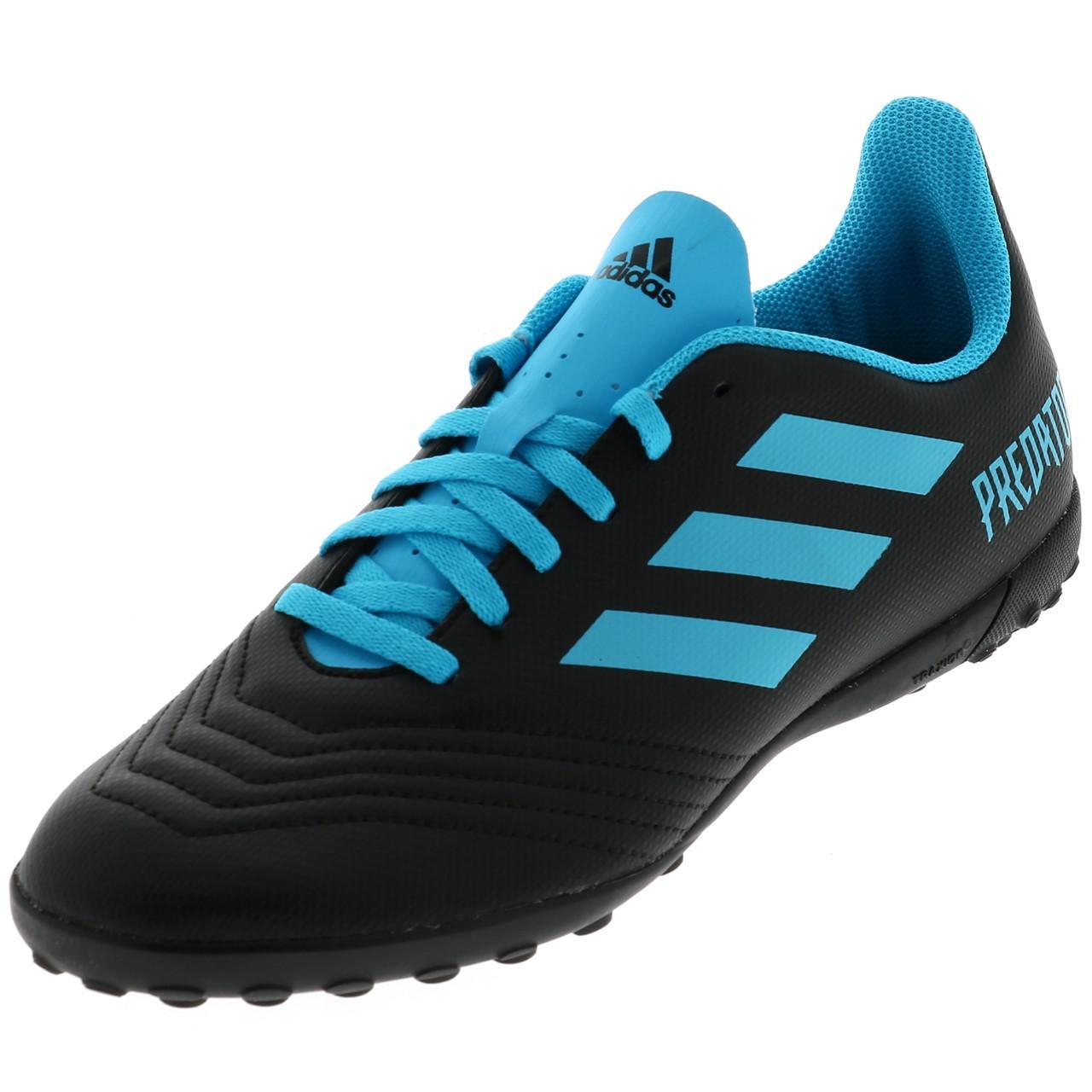 Football-Shoes-Stabilized-Adidas-Predator-19-4-Tf-Jmoule-Jr-Black-42177-N