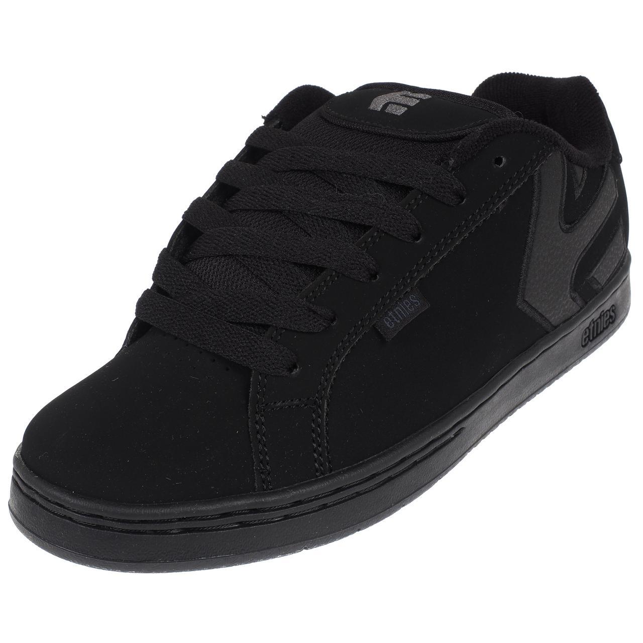 Shoes-Skateboard-Etnies-Fader-Black-Dirty-Wash-Black-42823-New