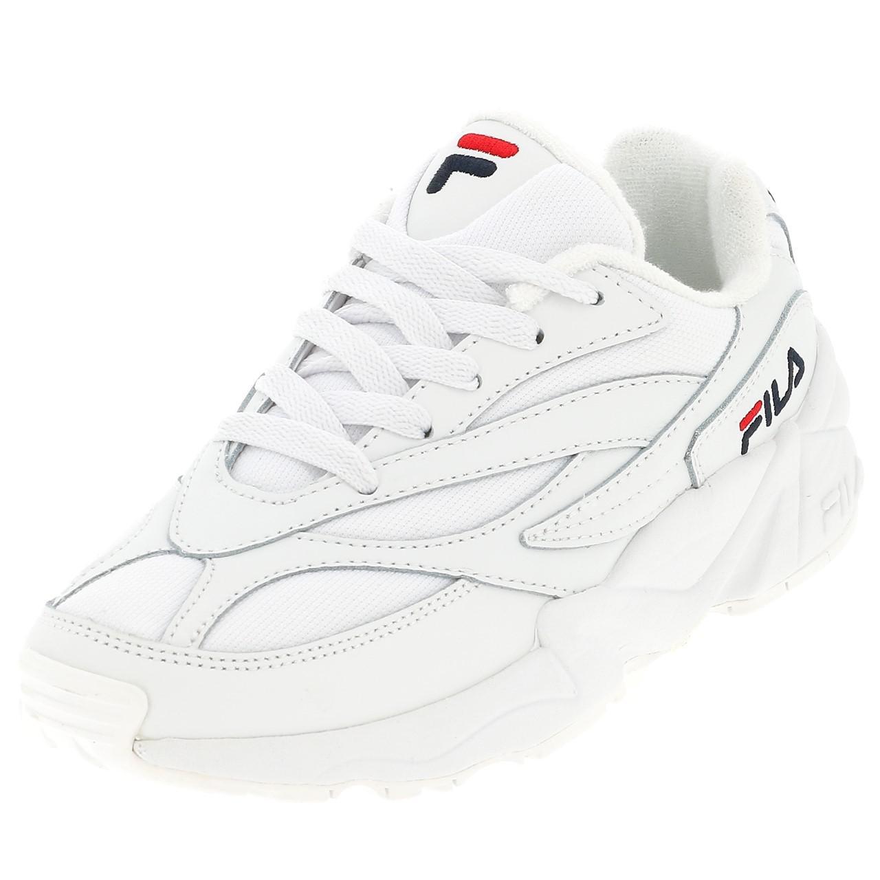 Détails sur Chaussures multisport Fila Venom low wnn blanc blc Blanc 43447 Neuf