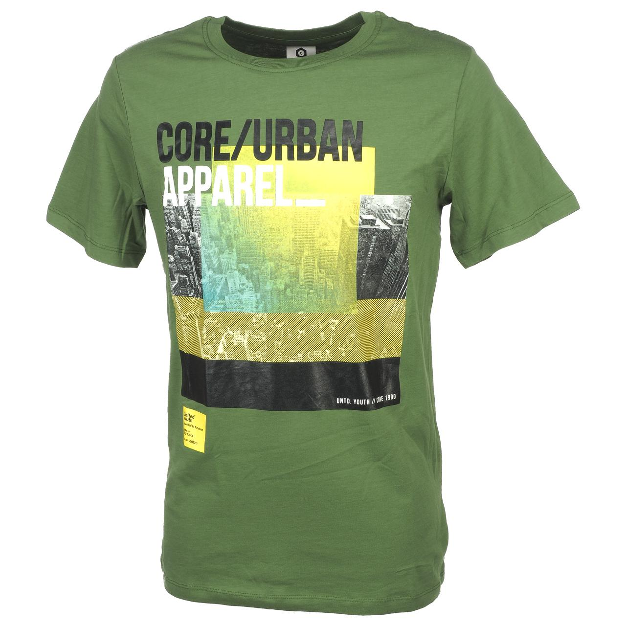 Short-Sleeve-T-Shirt-Jack-and-Jones-Dave-Vineyard-Green-Tee-44186-Does-Not