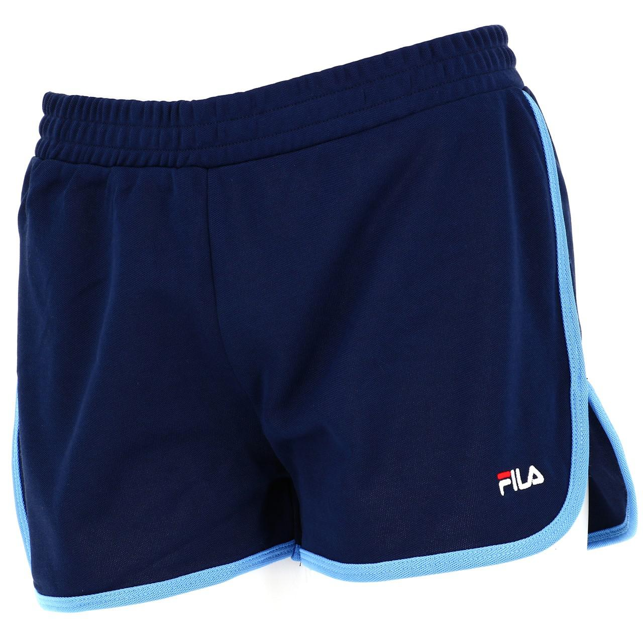 Bermuda-Shorts-Fila-Paige-Shorts-Vintage-W-Blue-45218-New