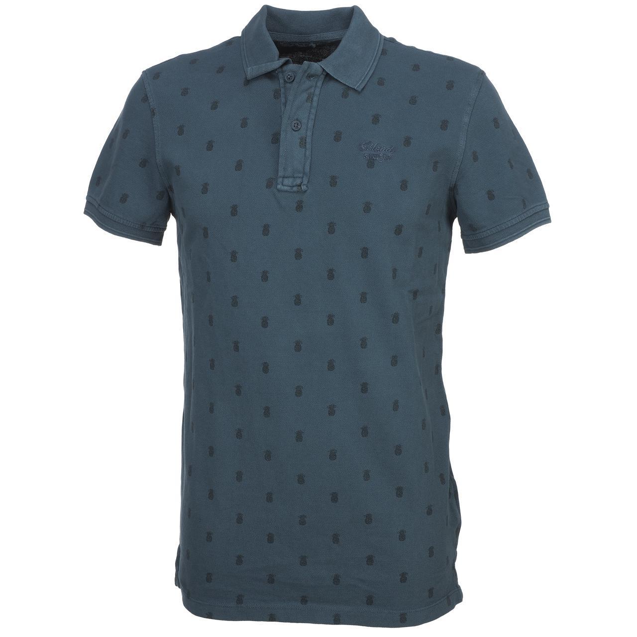 Short-Sleeve-Polo-Blend-Milan-Denim-Blue-Mc-Polo-Blue-45442-New