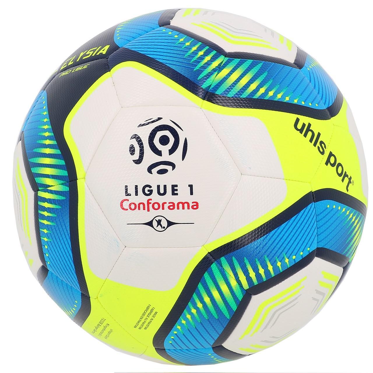 Ball-Football-Leisure-Uhlsport-League-1-Proligue-t5-White-50009-New