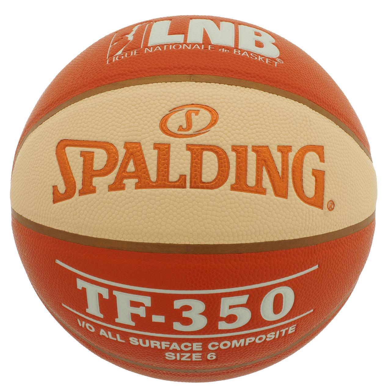 Ball-Of-Basketball-Spalding-Tf350-t6-Ball-Orange-50023-New