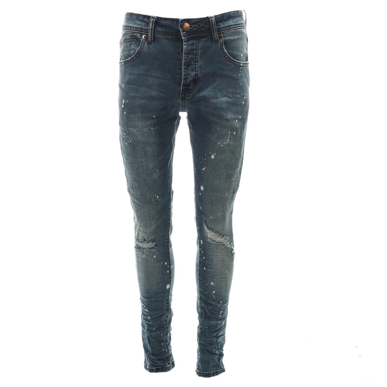 Jeans-Pants-Senders-Rikavik-Used-Blue-Blue-50030-New