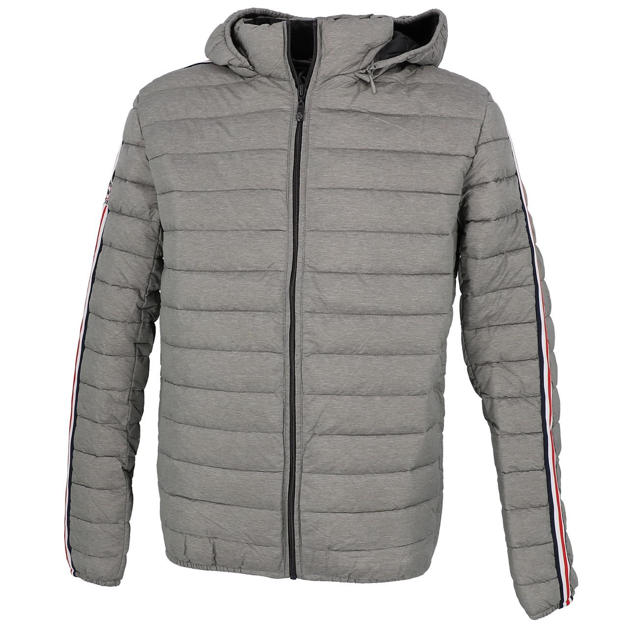 Synthetic-Jackets-Waxx-Shelter-Stripes-Metal-H-Grey-50764-New