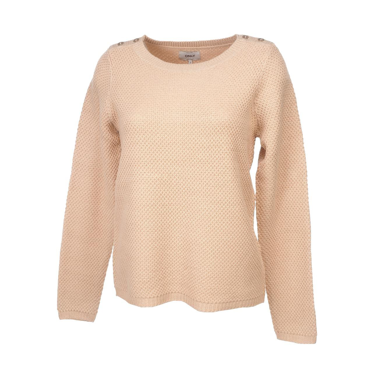 Pull-fin-Only-Avaline-cameo-rose-pull-l-Rose-52543-Neuf