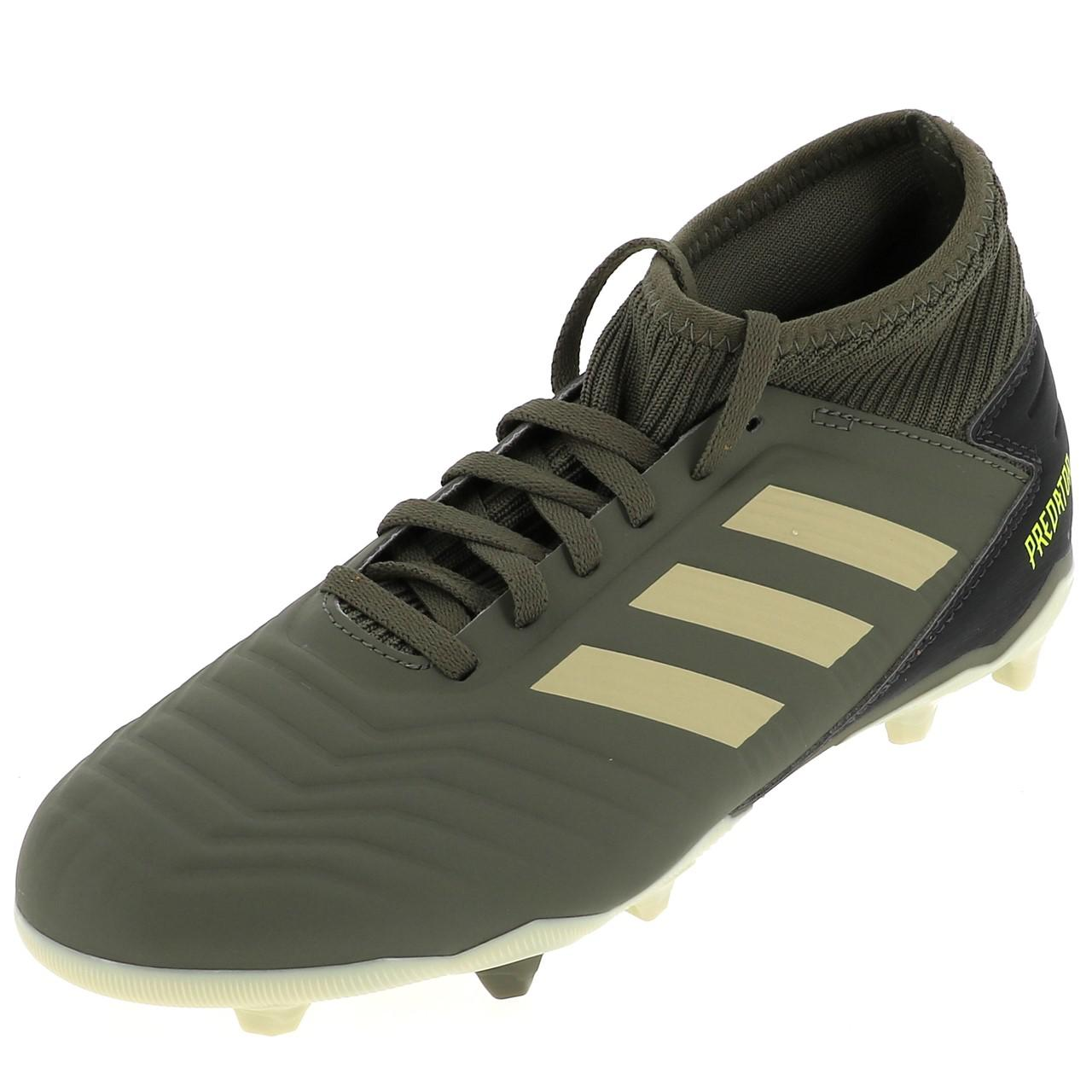 Détails sur Chaussures football lamelles Adidas Predator 19.3 fg h Vert 53056 Neuf