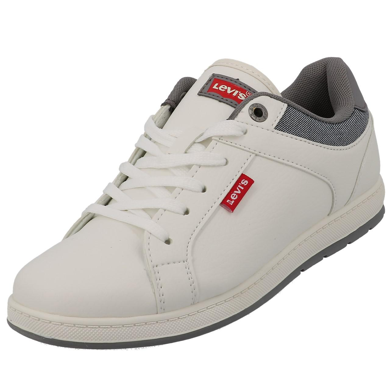 Chaussures-mode-ville-Levis-Declan-blanc-Blanc-53197-Neuf