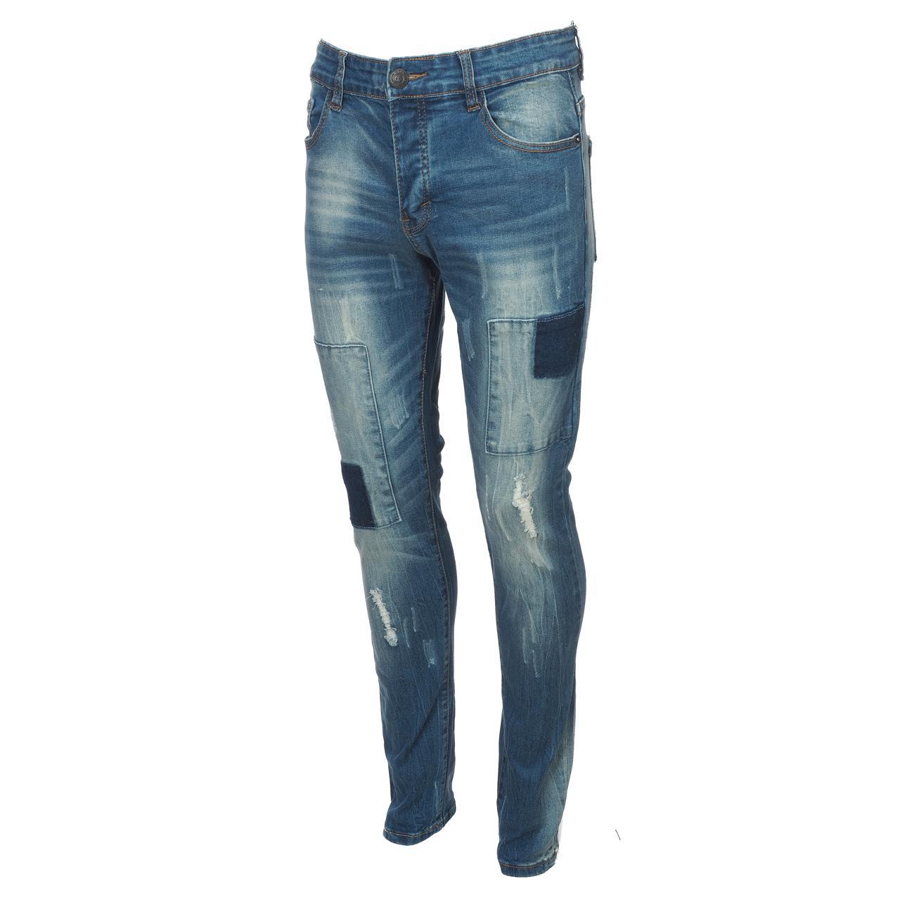 Jeans-Pants-Hite-Couture-Kimit-Blue-Blue-Jeans-56935-New