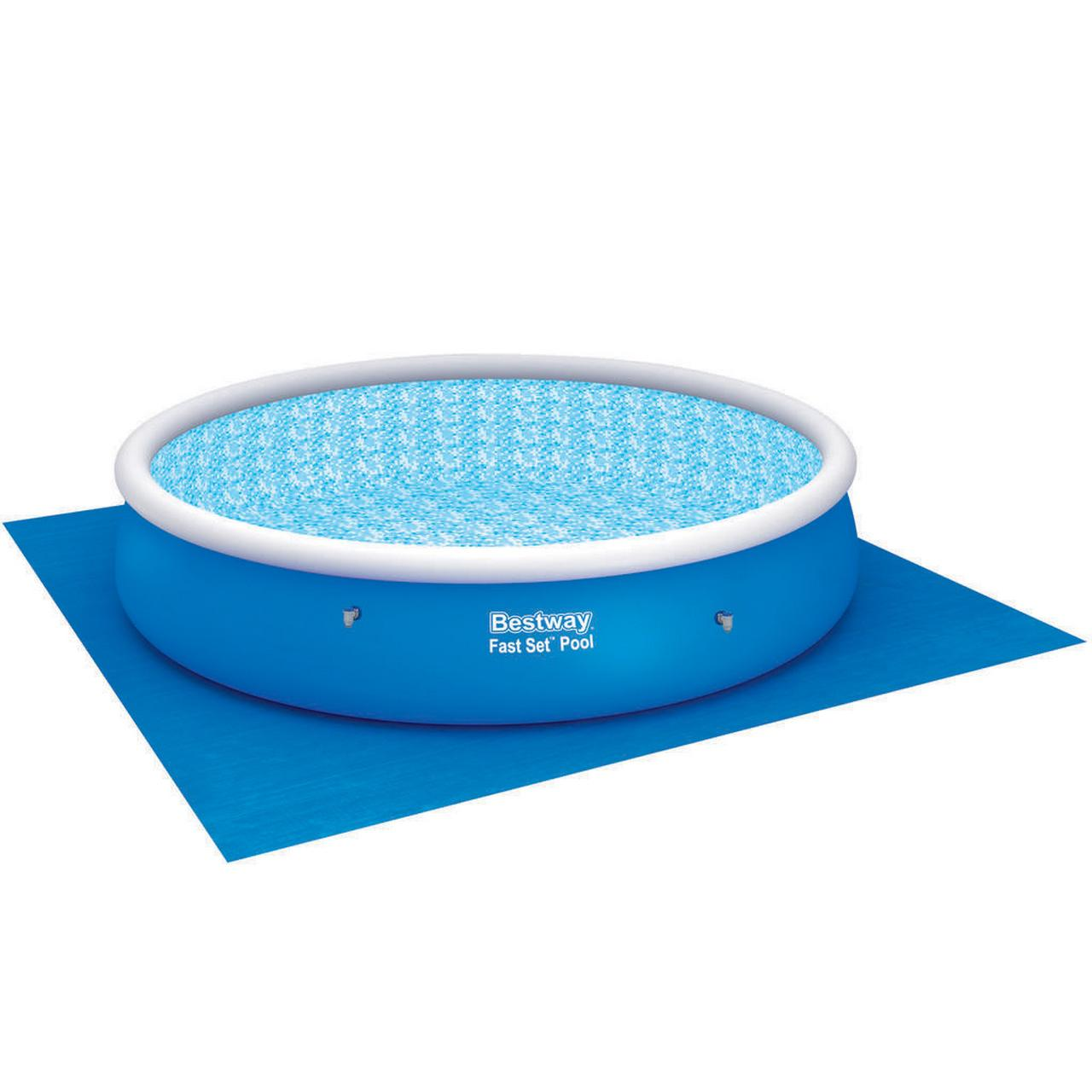 Tapis de sol protection piscine bestway tapis de sol for Protection piscine