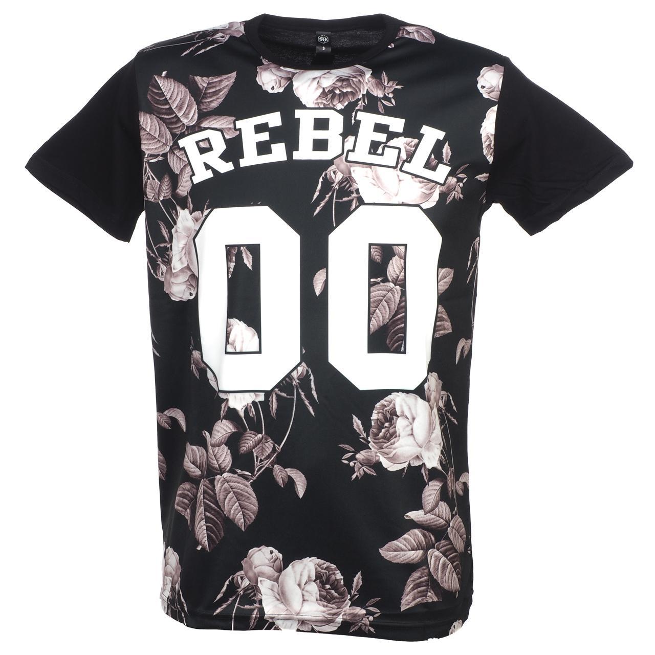 Tee-shirt-manches-courtes-Rivaldi-black-Merleana-black-mc-tee-Noir-58563-Neuf