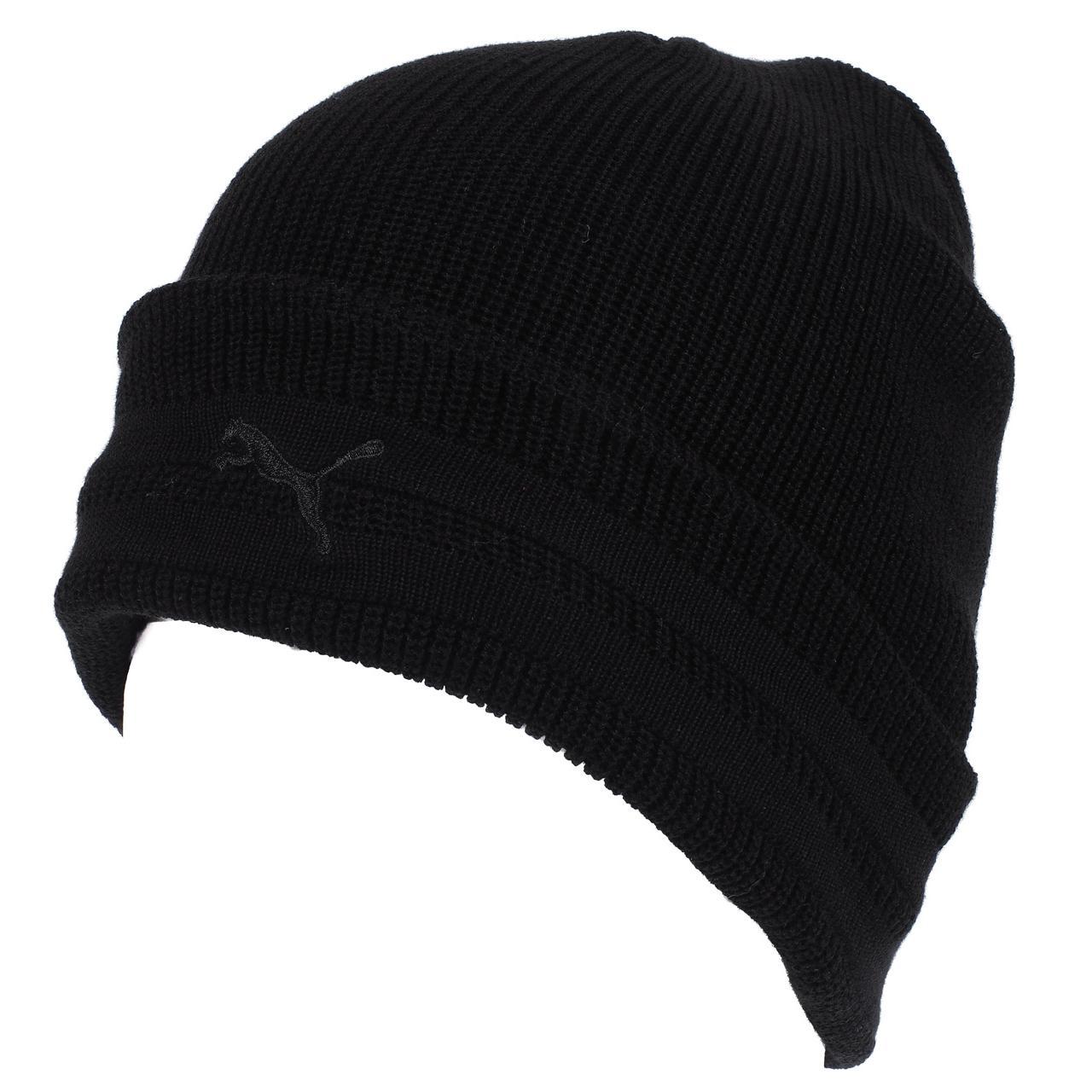 096538762e Bonnet classique Puma Ferrari ls black beanie Noir 58993 - Neuf