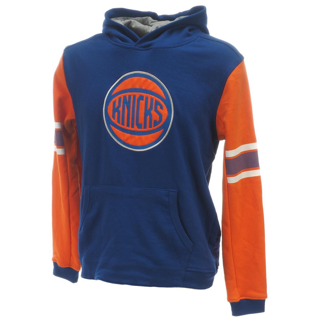 Sweatshirt-Kapuze-Kapuzenpulli-Outstuff-Knicks-Ny-Umhang-Okc-Blau-60529-Neu