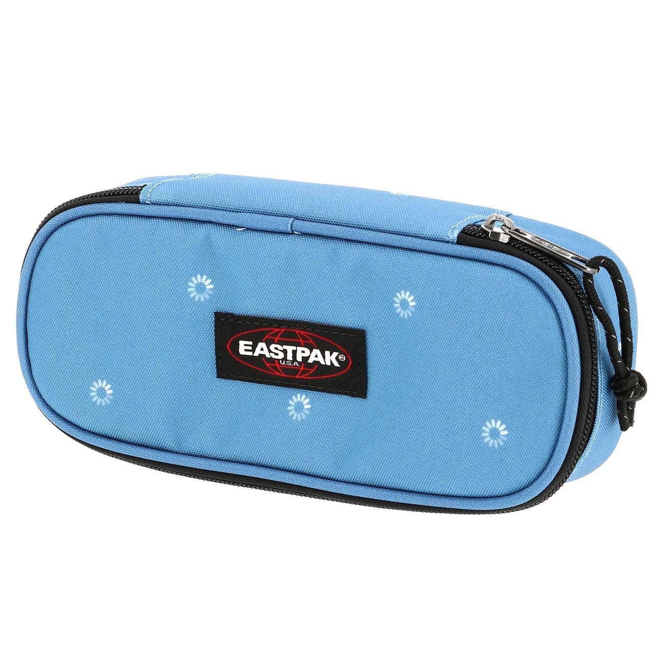 Détails sur Trousse à crayons Eastpak Benchmark trippy blue Bleu 71525 Neuf