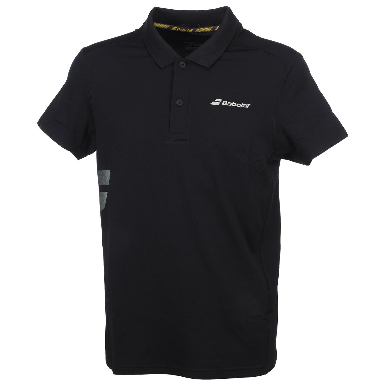 Polo-Tennis-Babolat-Polo-Core-Club-Black-Black-70103-New