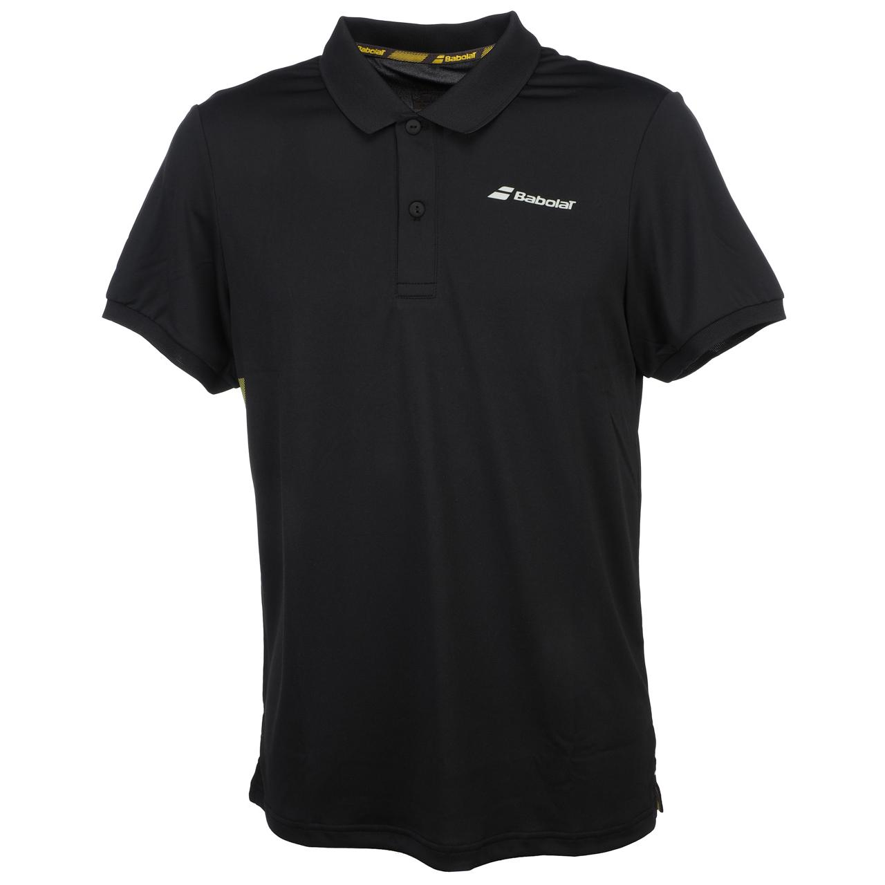 Polo-Tennis-Babolat-Polo-Pp-Core-Black-Black-70113-New