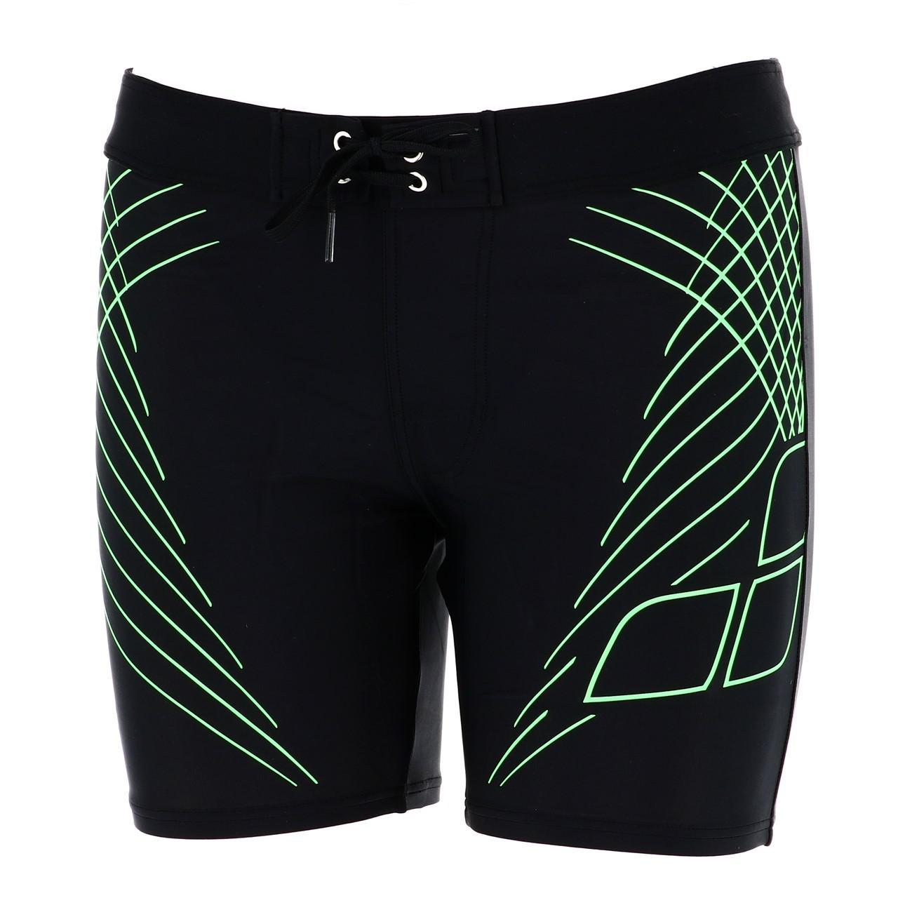 Boxer-Swimsuit-Arena-Java-mid-Jammer-Black-Black-70312-New