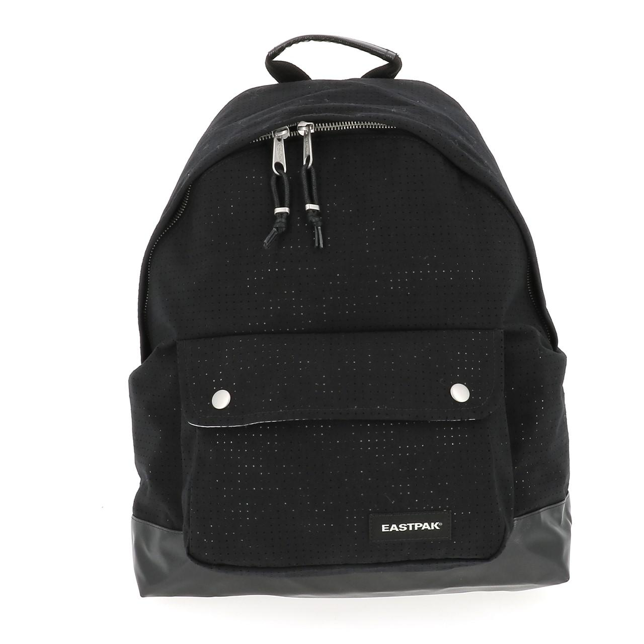 Sac-a-dos-college-Eastpak-Padded-pinched-black-Noir-70649-Neuf
