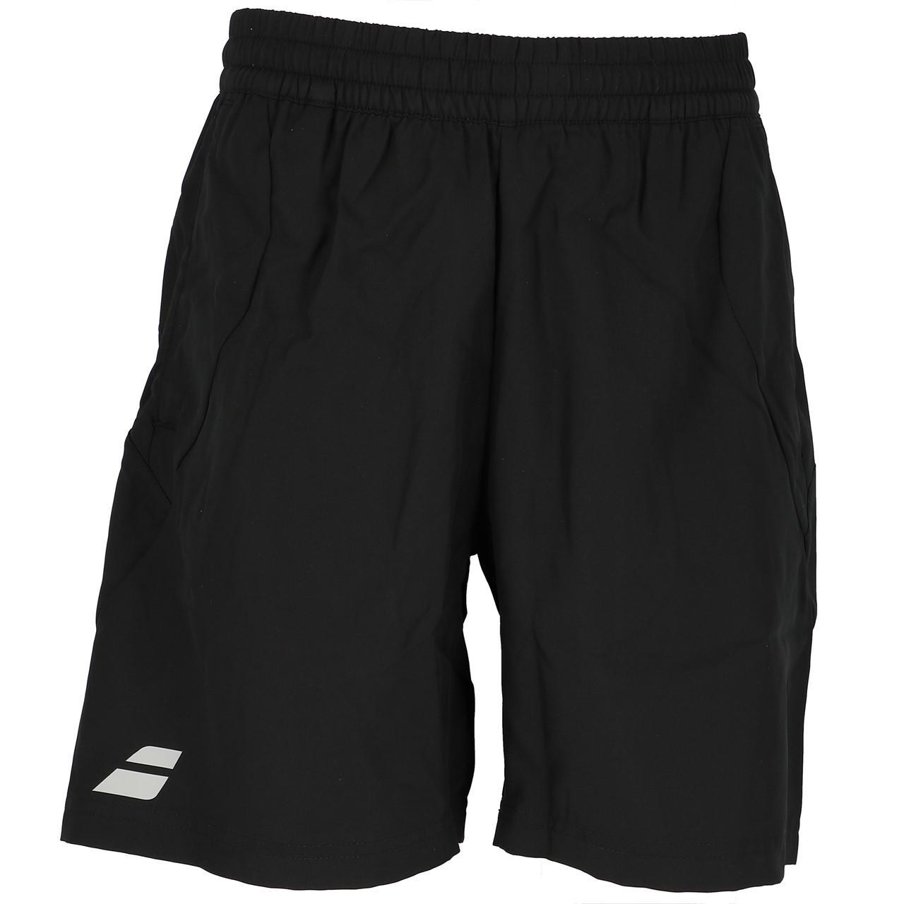 short-Tennis-Babolat-Core-Shorts-8-Men-Schwarz-Schwarz-71700-Neu