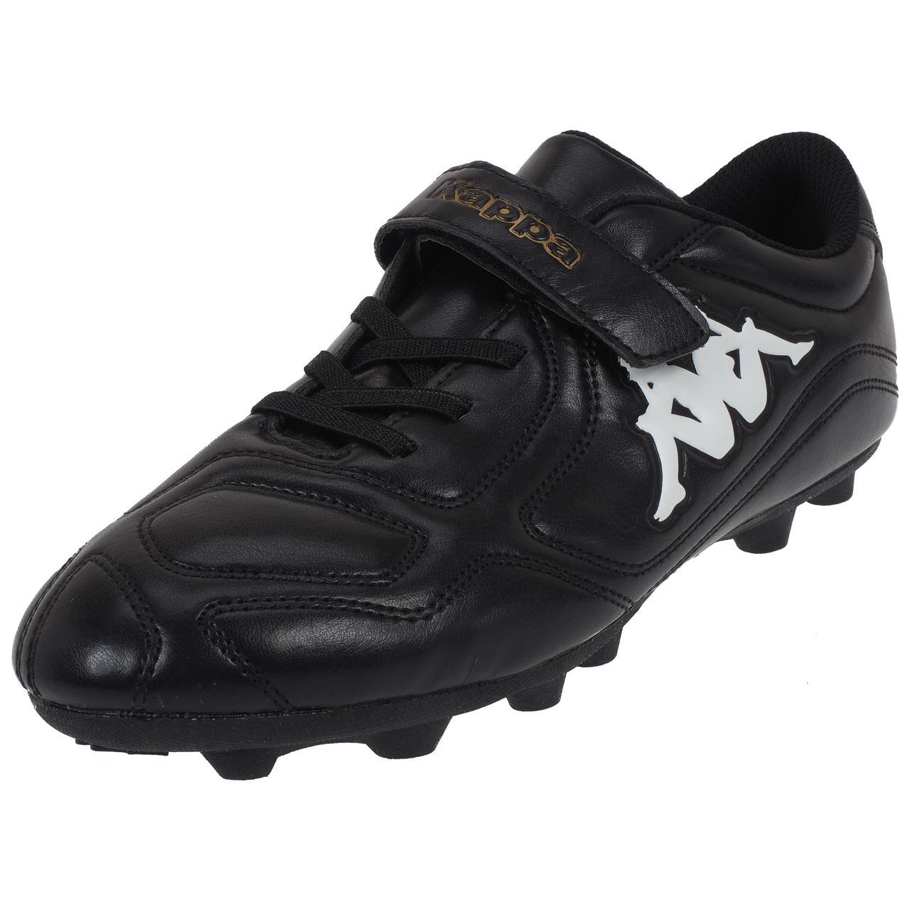 Football-Shoes-Molded-Kappa-Parek-Fg-Kid-Black-Black-75087-New