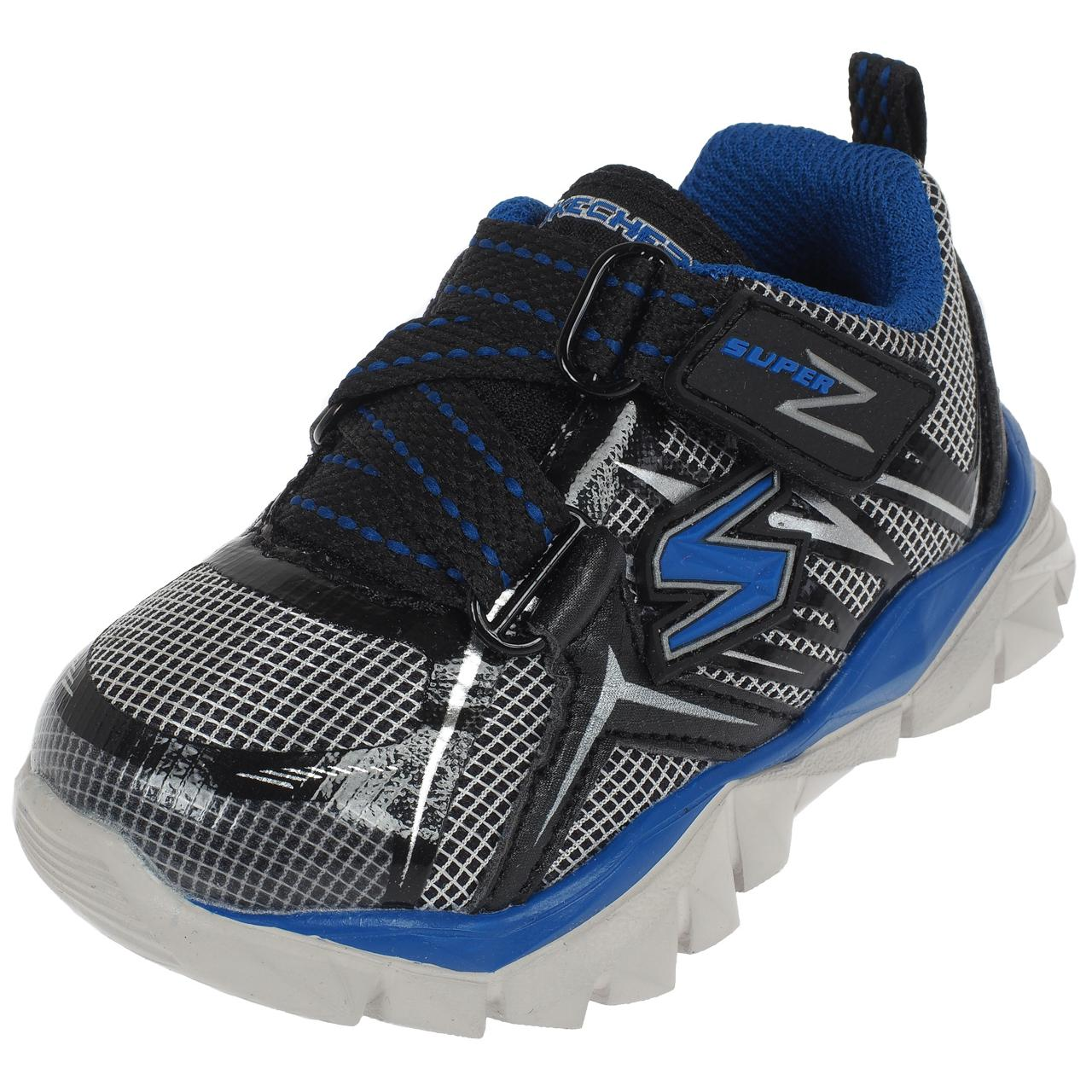 Chaussures-multisport-Skechers-Electronz-gr-roy-2016-Gris-75867-Neuf