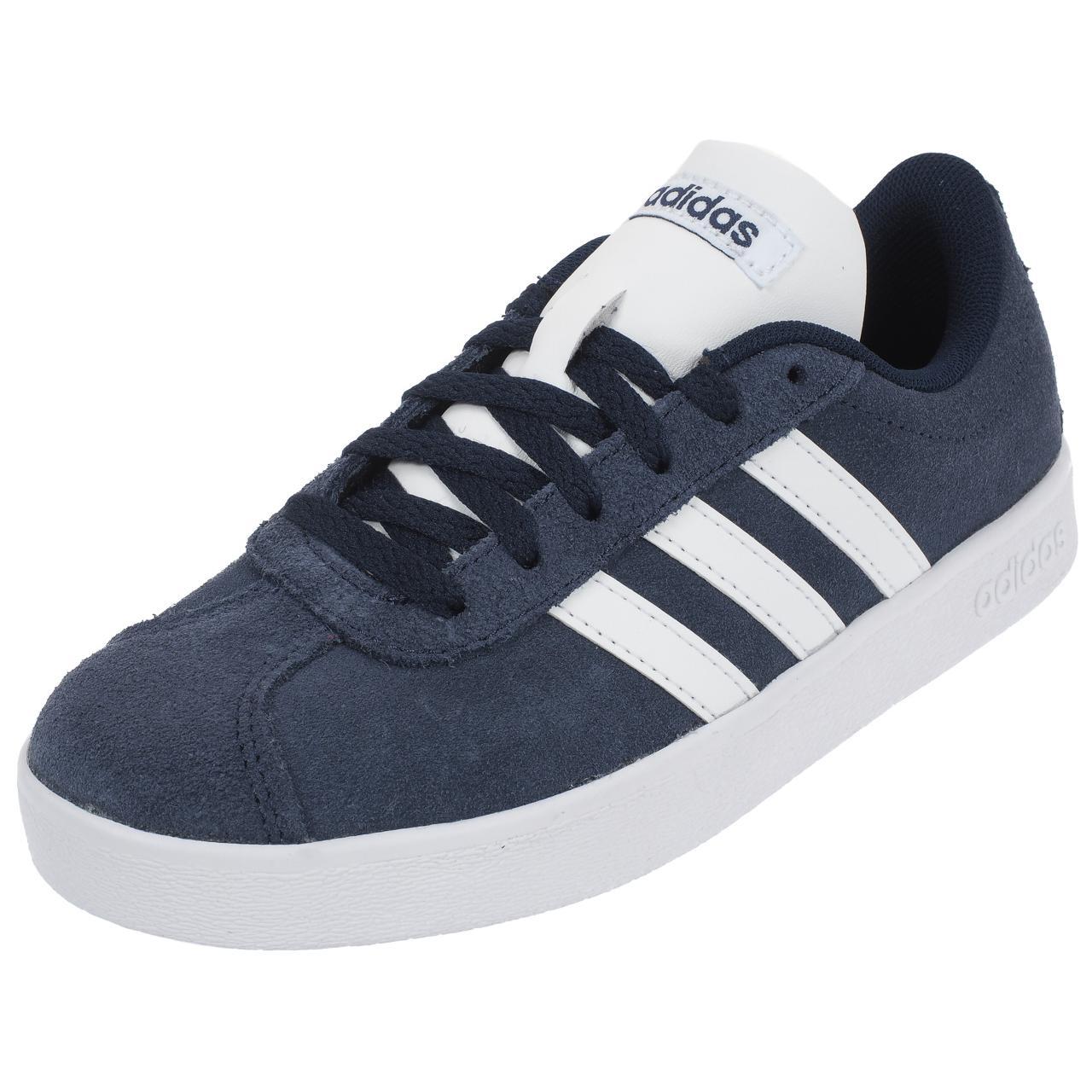 CHAUSSURES MODE VILLE Adidas neo Vl court 2.0 marine Bleu 76648 ...