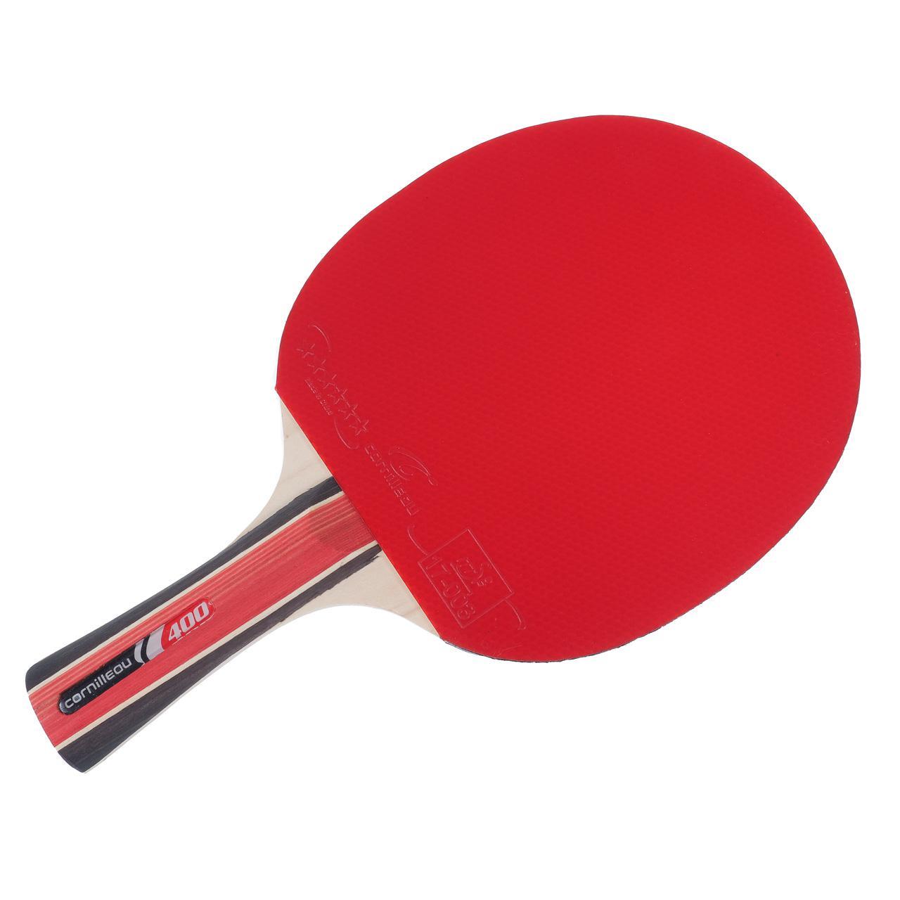 Raquette tennis de table cornilleau sport 400 rouge rouge 80602 neuf ebay - Raquette de tennis de table cornilleau ...