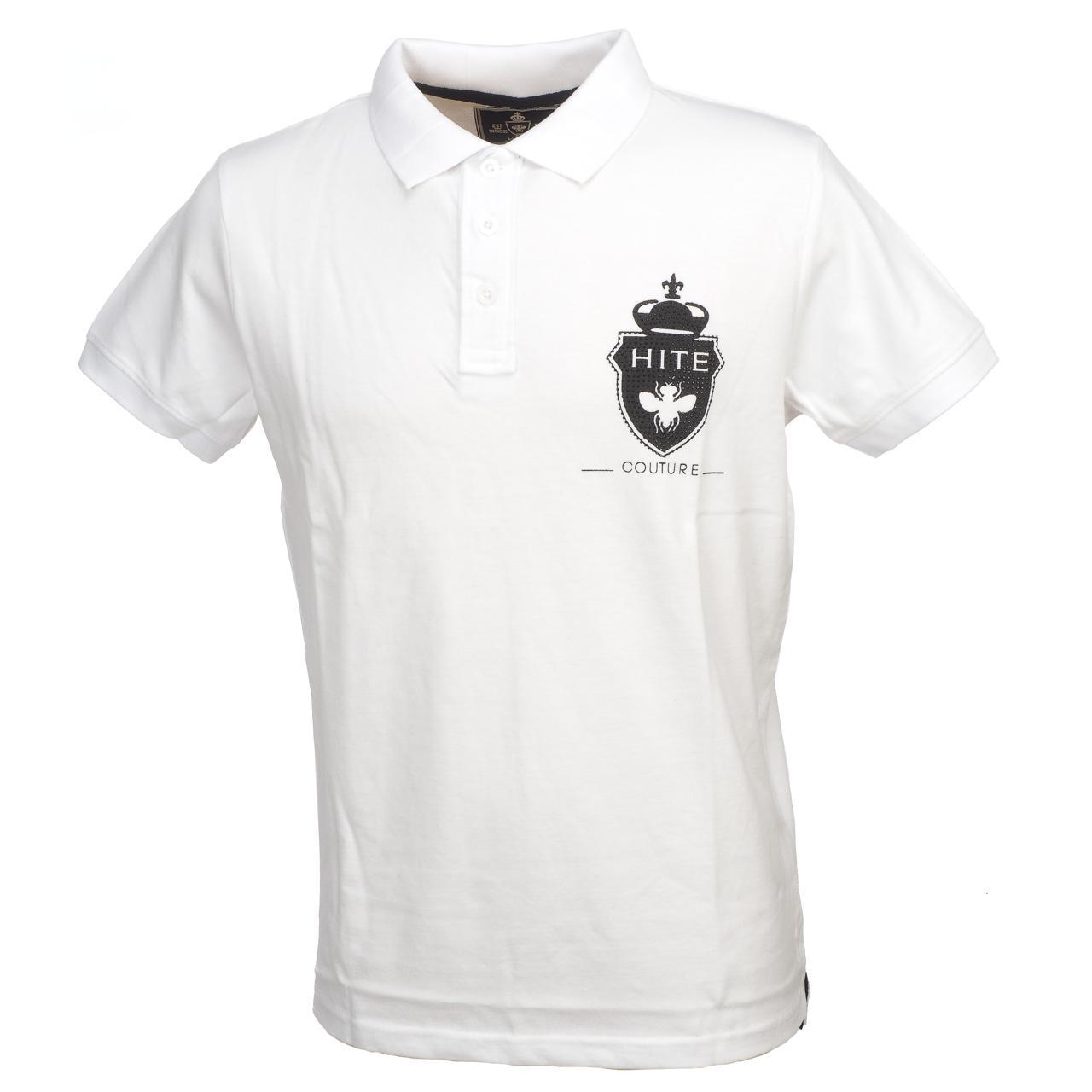 Short-Sleeve-Polo-Hite-Couture-Peltit-White-Mc-Polo-White-83128-New