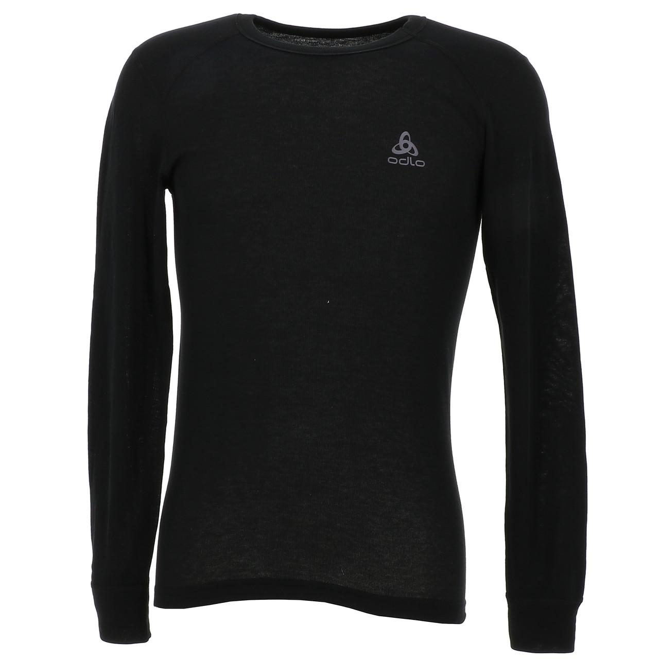 Under-Clothing-Thermal-Hot-Odlo-Warm-Black-DRC-ML-Tee-Black-85353-New